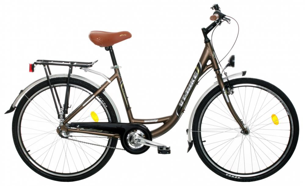 "VT-BIKE Wendy 26""  hnědá matt - 2019"