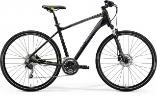 MERIDA Crossway 300 Matts Black (Green/Grey) M(51) 2018