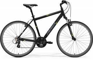 Merida CROSSWAY 15-V Matt Black(Yellow/Grey) 48CM 2017