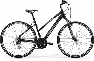 Merida CROSSWAY 20-V Lady Matt Black(White/Grey) 50cm 2018