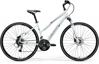 Merida CROSSWAY 40-D Lady Pearl White(Silver/Black)(M) 50cm 2018