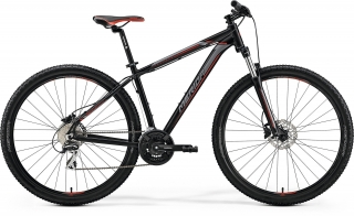 MERIDA BIG.NINE 20-D Matt Black(Red/Silver) L(19
