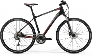 MERIDA CROSSWAY 500 Matt Black(Red)  M(51cm) 2019