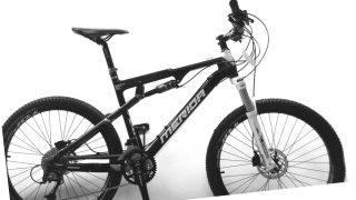 MERIDA NINETY-SIX5000D- CARBON 20""